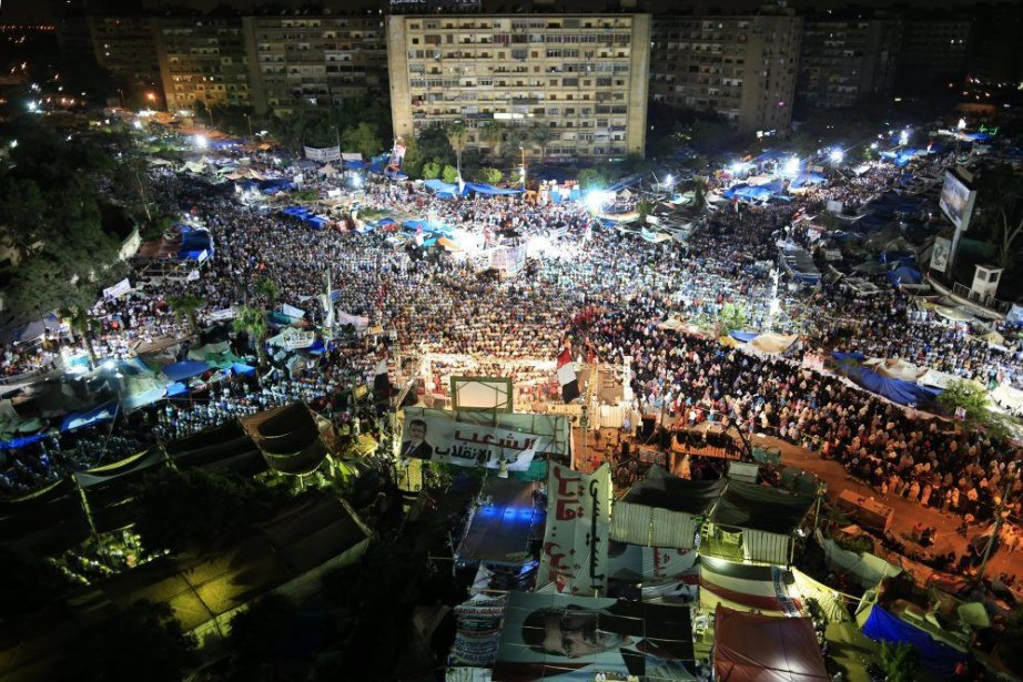 Ce drame survient alors que l'Égypte est en... (Photo AP)