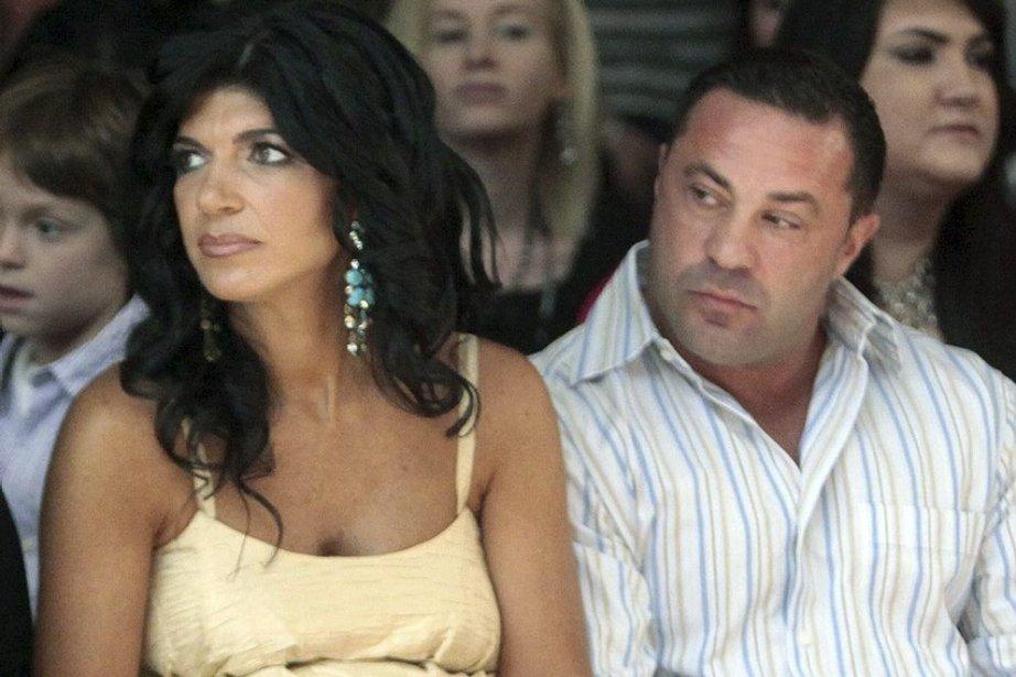Teresa Giudice et son époux, Gisueppe «Joe» Giudice... (Photo: AP)