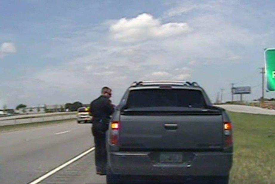 La vidéo, réalisée par une camera embarquée dans... (Photo Associated Press)