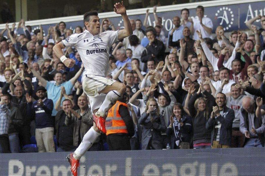 La saison dernière, Gareth Bale a été élu... (Photo Ian Kington, archives AFP)