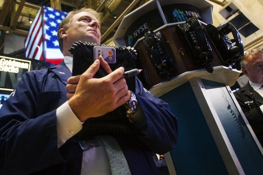 Dopés en cours d'échanges électroniques par de bons... (Photo Archives AFP)