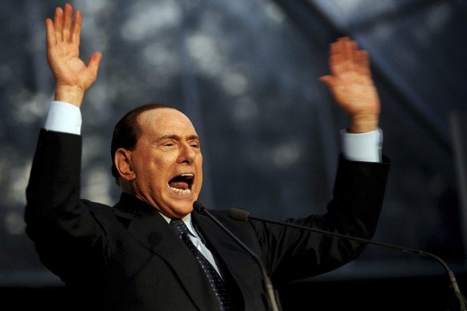 Dans cette affaire, le Cavaliere a été condamné,... (Photo AFP)