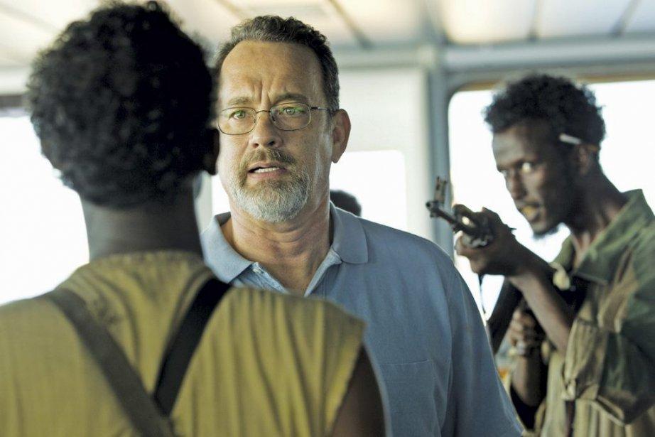 Captain Phillips met en vedette Tom Hanks.... (Photo: fournie par Mongrel/Métropole Films)