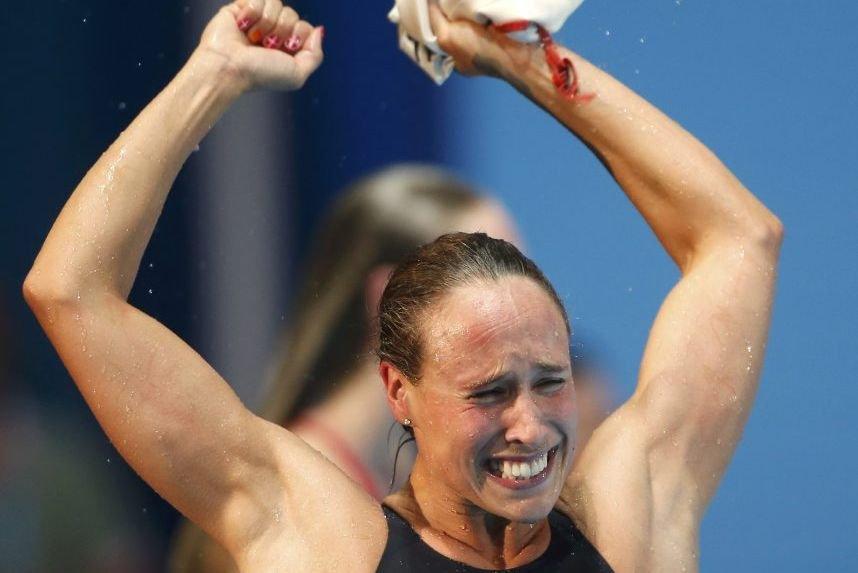 La Danoise Rikke Pedersen... (Photo : Albert Gea, Reuters)
