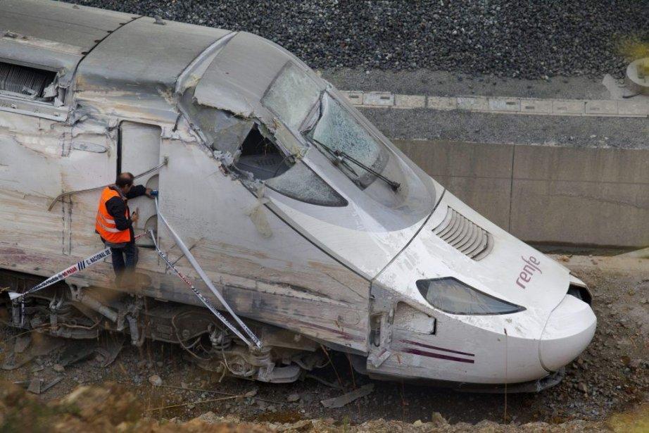 Le compte-rendu extrait des boîtes noires du train... (PHOTO LALO R. VILLAR, AP)
