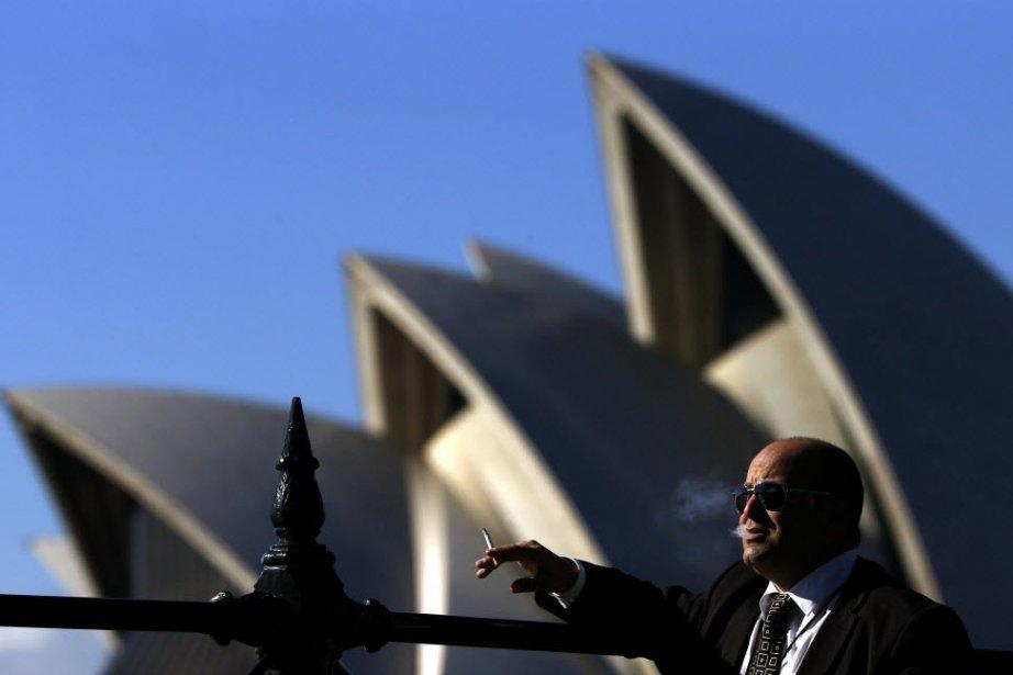 L'Opera House de Sydney, en Australie....