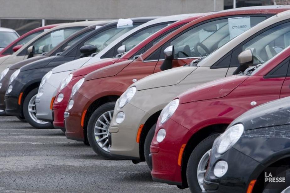 Les ventes de véhicules aux États-Unis ont connu... (Photo Alain Roberge, Archives La Presse)