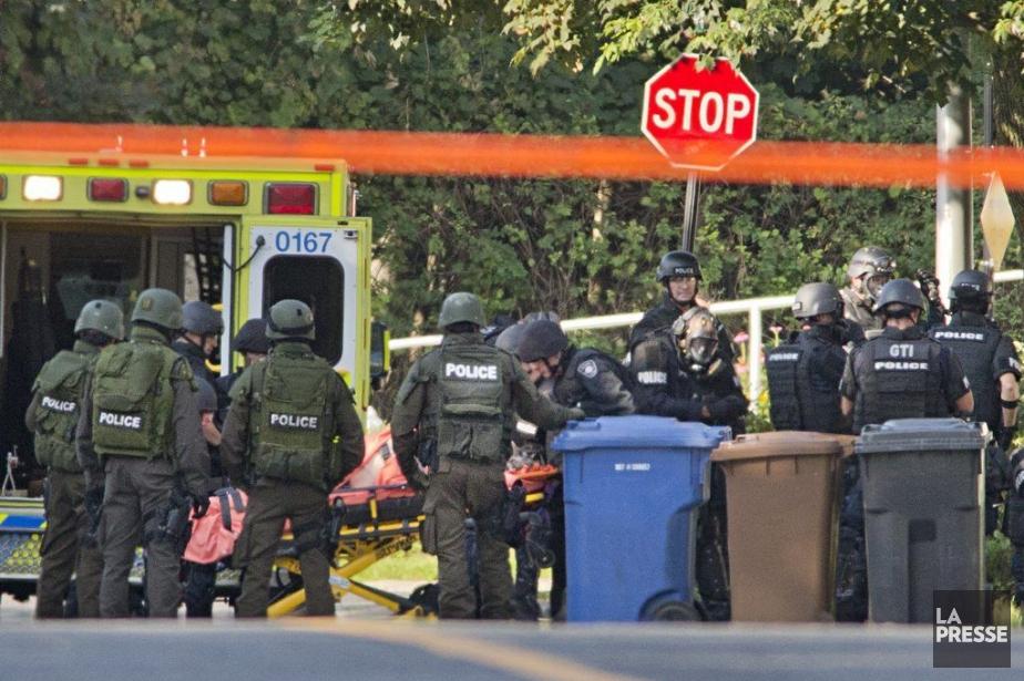 Isidore Havis a tenu les policiers en haleine... (PHOTO DAVID BOILY, LA PRESSE)