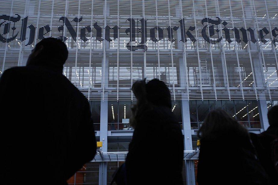 L'édifice du New York Times, à New York.... (PHOTO Carlo Allegri, Reuters)