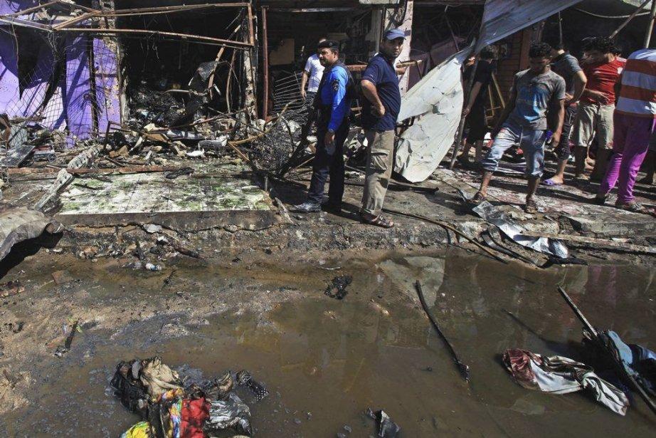 En juillet, les violences ont fait près d'un... (PHOTO NABIL AL-JURANI, AP)
