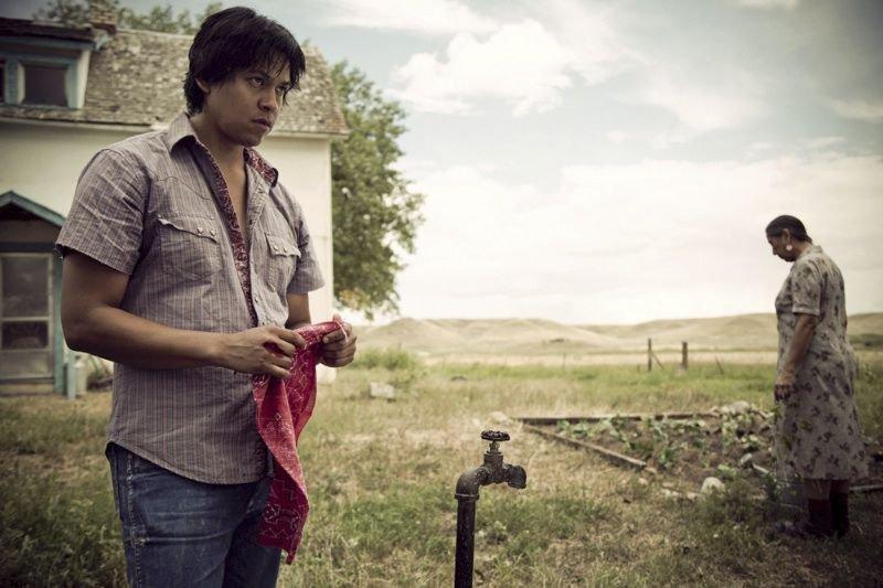 Chaske Spencer interprète Virgil, un jeune Blackfoot du... (Photo fournie par Présence autochtone)