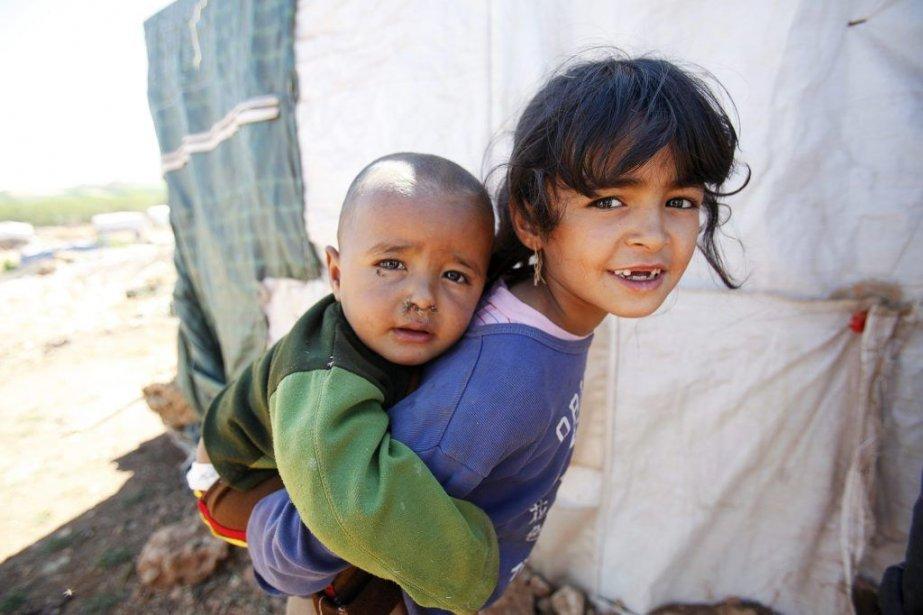 L'UNICEF a tiré la sonnette d'alarme sur le... (PHOTO SHARIF KARIM, REUTERS)