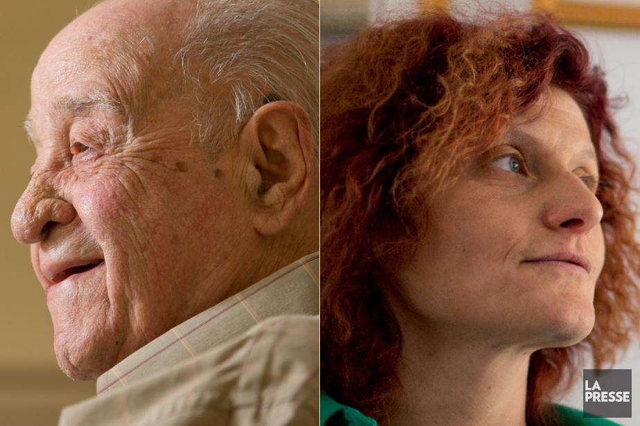 Michele Lanese et Alessandra Santopadre... (PHOTOS HUGO-SÉBASTIEN AUBERT ET DAVID BOILY, LA PRESSE)