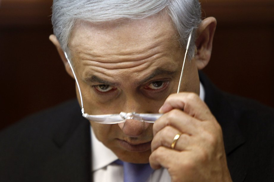 Le premier ministre israélien Benyamin Nétanyahou.... (PHOTO GALI TIBBON-POOL, AGENCE FRANCE PRESSE)