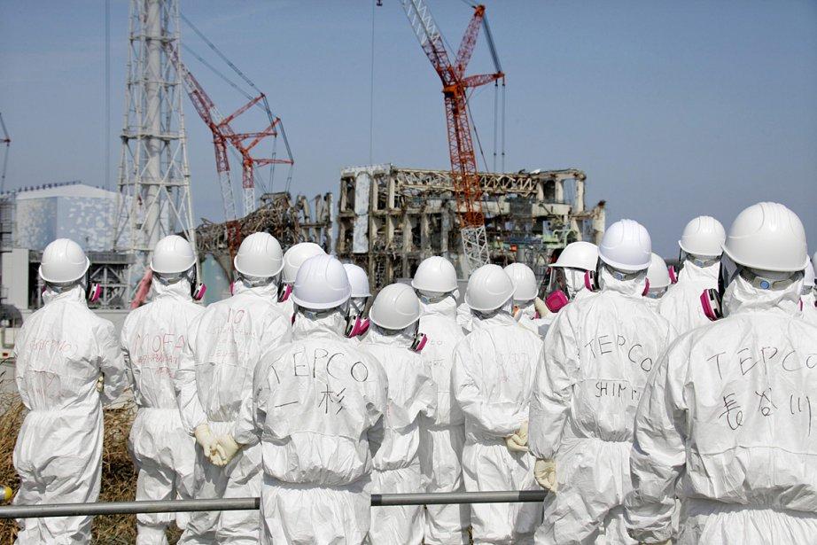 Le séisme et le tsunami du 11 mars... (PHOTO Kimimasa Mayama, ASSOCIATED PRESS)