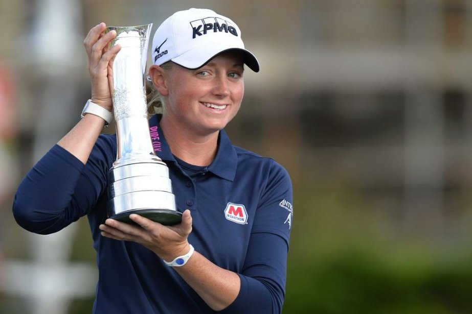 Stacy Lewis... (PHOTO RUSSELL CHEYNE, REUTERS)