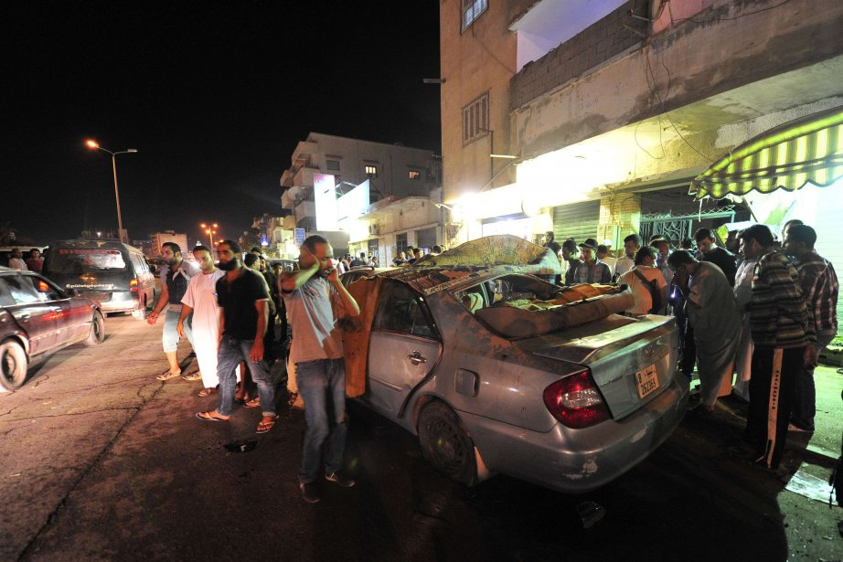 La attentats se multiplient en Libye.... (Photo ESAM OMRAN AL-FETORI, Archives REUTERS)