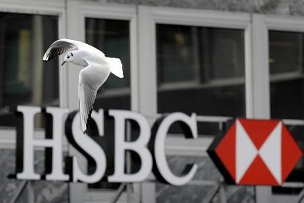 De son côté, la Banque HSBC Canada, qui... (Photo Fabrice Coffrini, AFP)