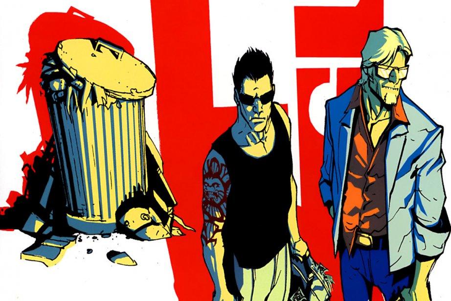 Une image du roman graphique 2 Guns....