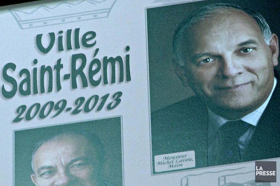 Le maire de Saint-Rémi, Michel Lavoie.... (Photo tirée d'une vidéo, La Presse)