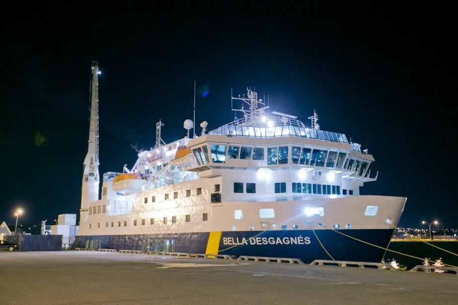 Le Bella-Desgagnés à quai. | 5 août 2013