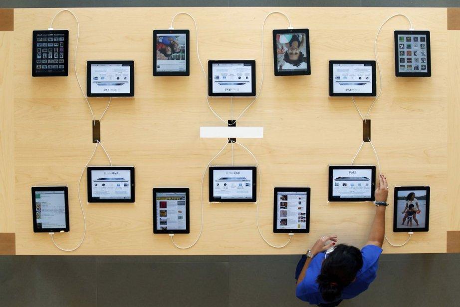 Au total 45,1 millions de tablettes ont été... (PHOTO ALBERT GEA, REUTERS)