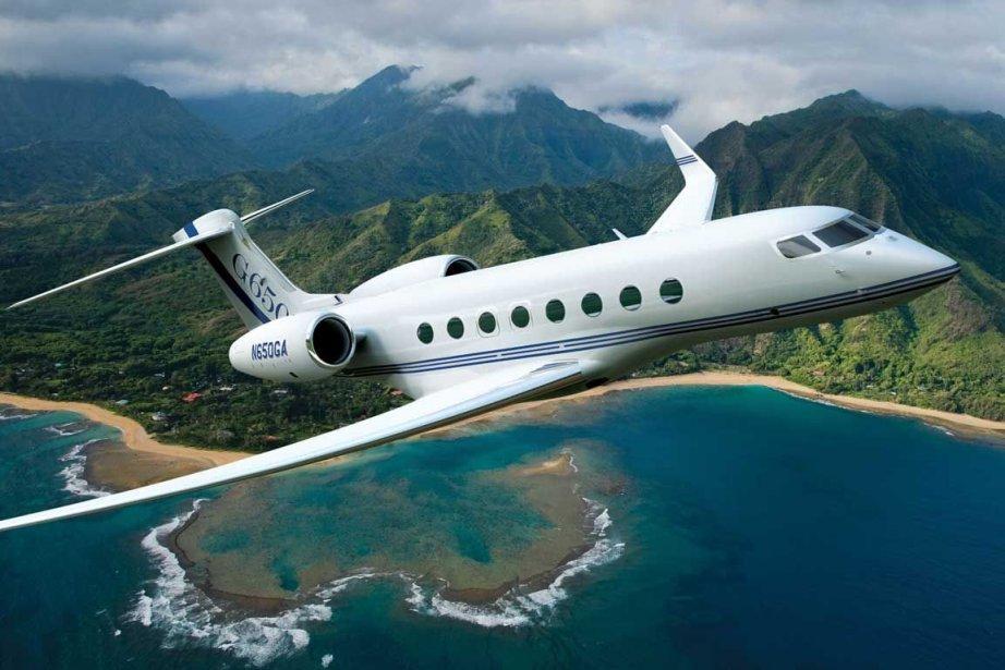 UnGulfstream G650.... (Photo Bloomberg)