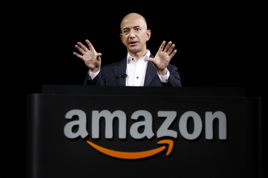 Jeff Bezos, le patron d'Amazon.... (Photo Reed Saxon, AP)