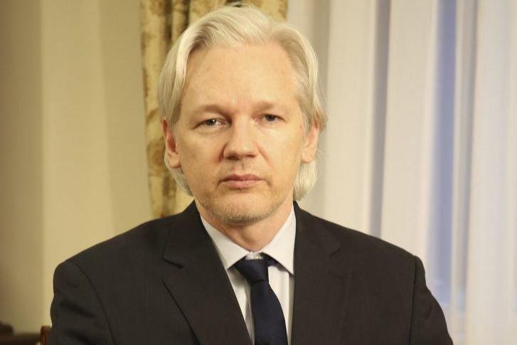 Julian Assange... (Photo Reuters)