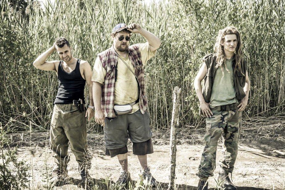Dans Les 4 soldats de Robert Morin, on... (Photo: fournie par Mongrel/Métropole Films)