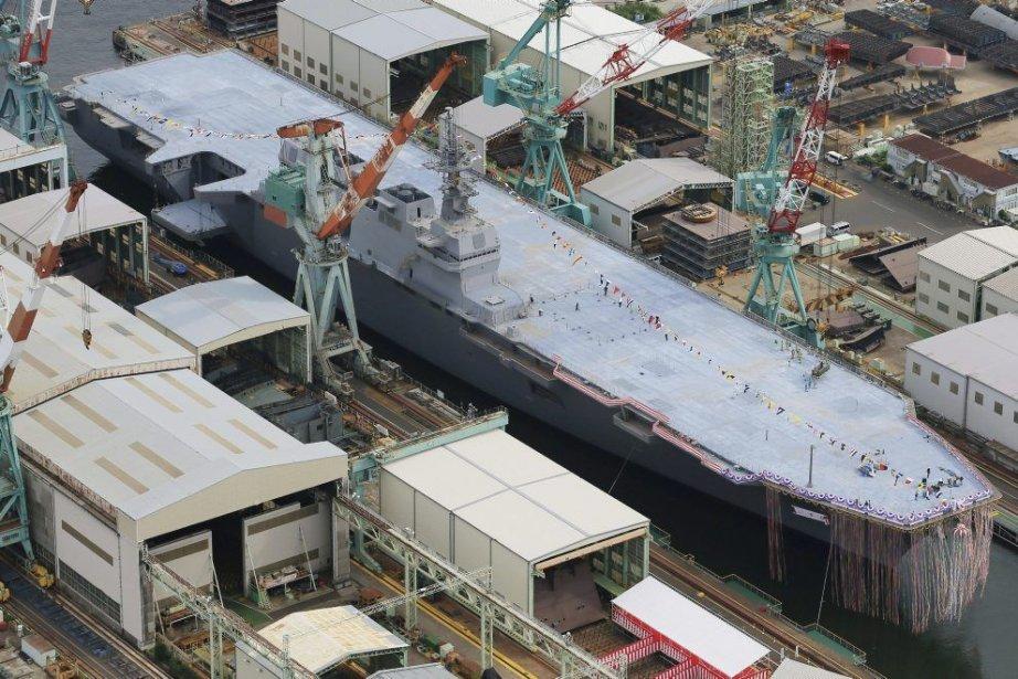 Selon le ministère de la Défense japonais, ce... (Photo Associated Press)