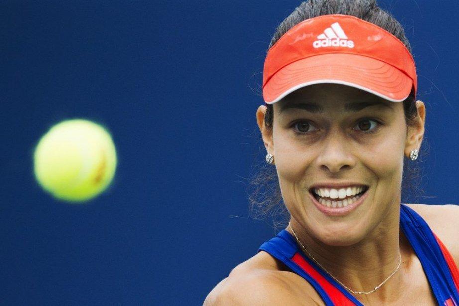 Ana Ivanovic a vaincu la Taïwanaise Su-Wei Hsieh... (Photo : Mark Blinch, Reuters)