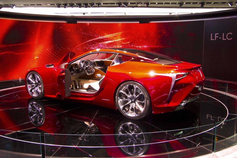 Le concept Lexus LF-LC présenté au Salon de... (Photo Éric LeFrançois, collaboration spéciale)