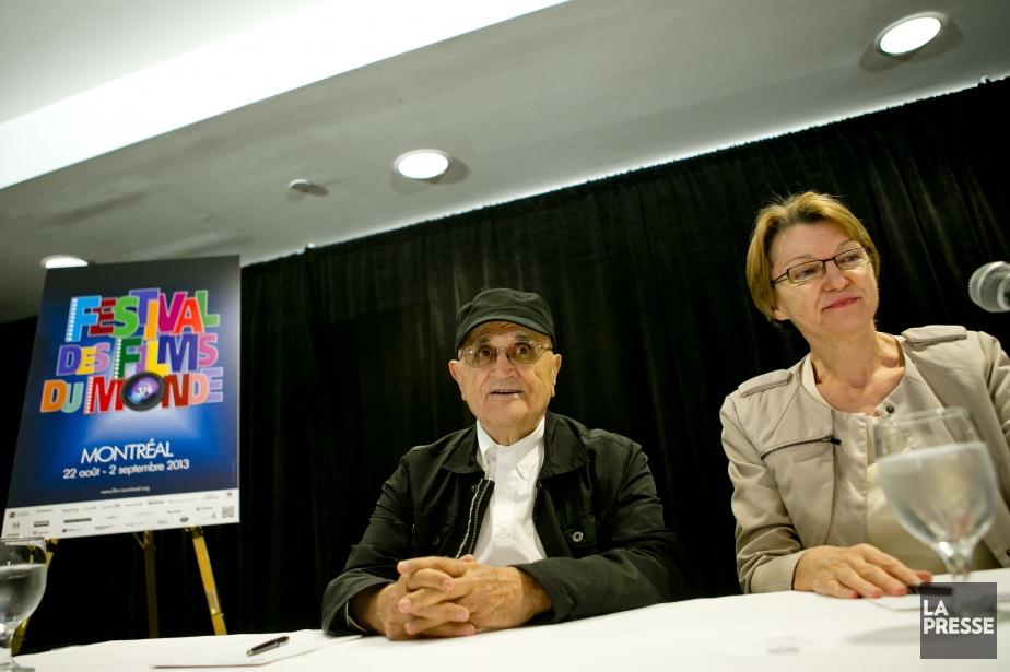 Serge Losique etDanièle Cauchard ont tenté de défendre... (PHOTO MARCO CAMPANOZZI, LA PRESSE)