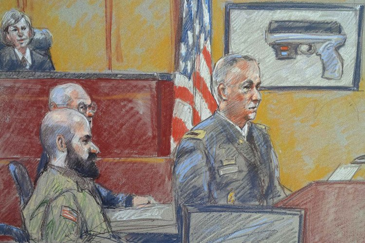 Nidal Hasan, qui a obtenu le droit de... (Photo: Reuters)