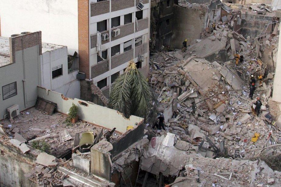 L'explosion est survenue mardi vers 9h30 (8h30 à... (Photo Marcelo Masuelli, Reuters)