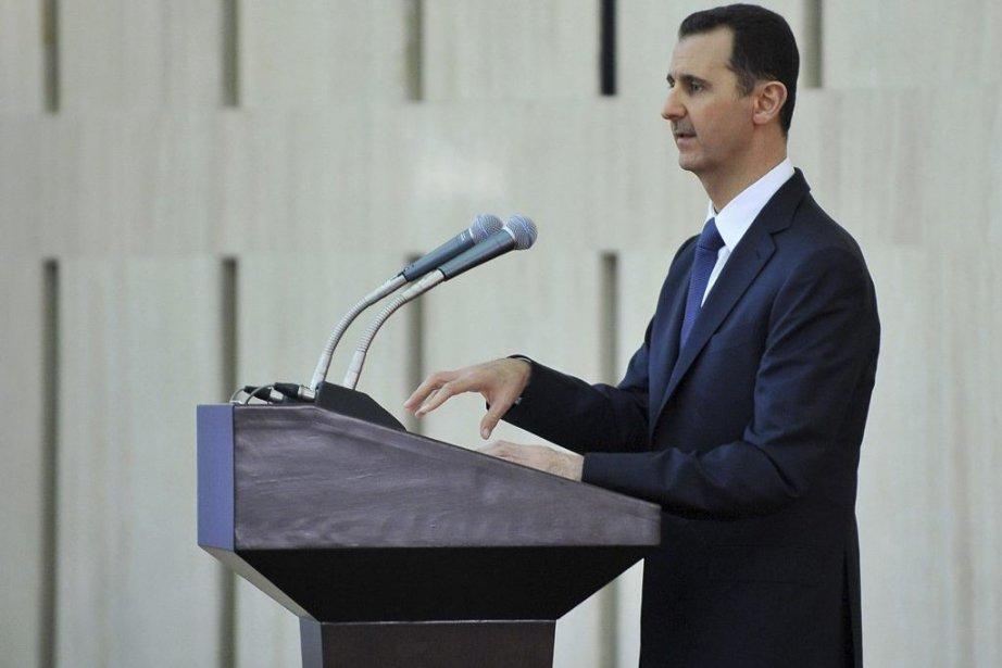 Le président syrien Bachar al-Assad... (Photo Agence France-Presse)