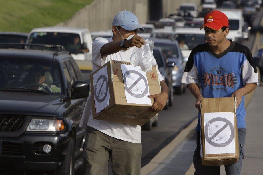 Les autorités sanitaires péruviennes assurent que le virus... (Photo Martin Mejia, archives AP)