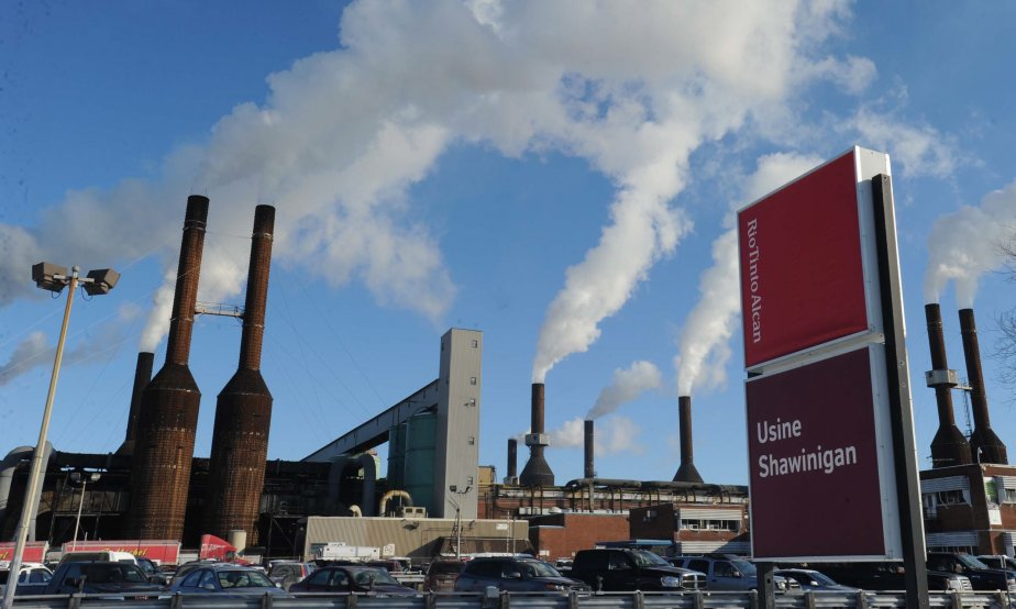 Le sort de l'usine, qui fabrique de l'aluminium... (Photo: Sylvain Mayer)