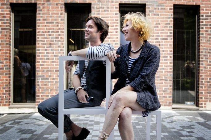 Le chanteur Rufus Wainwright et sa soeur Martha... (Marco Campanozzi)