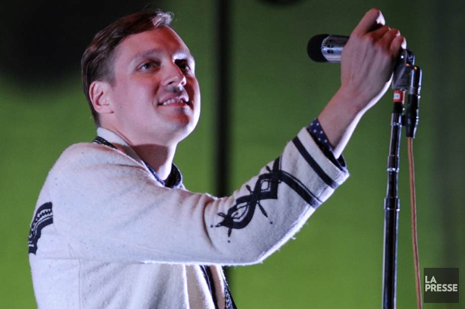 Win Butler, chanteur d'Arcade Fire.... (Photothèque La Presse)