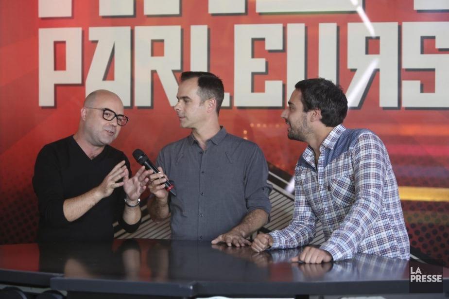 Philippe Renaud, Nicolas Tittley et Olivier Robillard Laveaux... (Photo: Martin Chamberland, La Presse)
