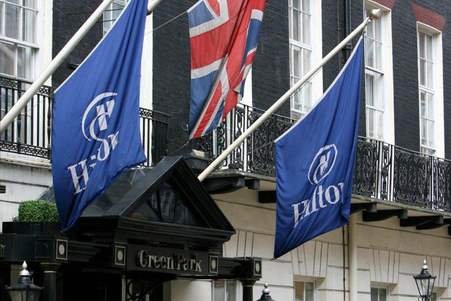 L'hötel Hilton à Londres.... (PHOTO SUZANNE PLUNKETT, REUTERS)