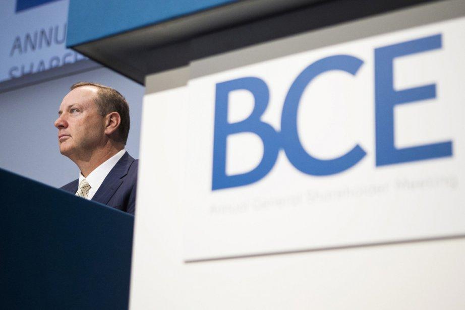 Le président et chef de la direction de BCE( (PHOTO CHRIS YOUNG, PC)