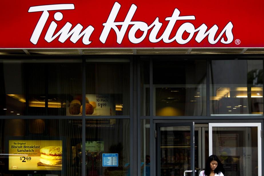 Le président de la chaîne de cafés Tim... (PHOTO BRENT LEWIN, ARCHIVES BLOOMBERG)