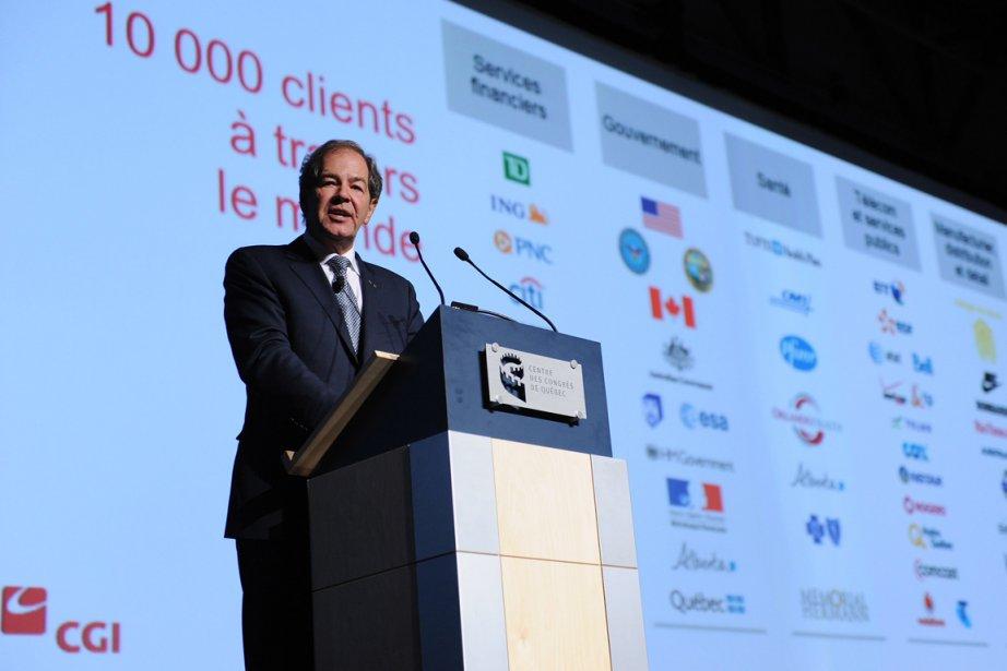 Serge Godin est président du conseil d'administration de... (PHOTO ERICK LABBÉ, LE SOLEIL)