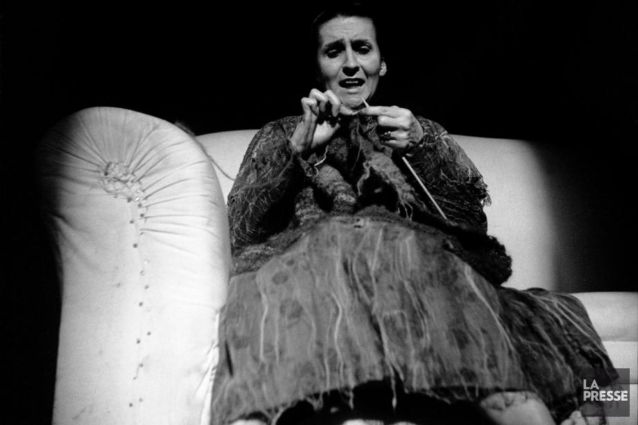 Hélène Loiselle dans À toi pour toujours ta Marie-Lou de Michel Tremblay au Théâtre de Quat'sous en 1971. (Photo: archives La Presse)