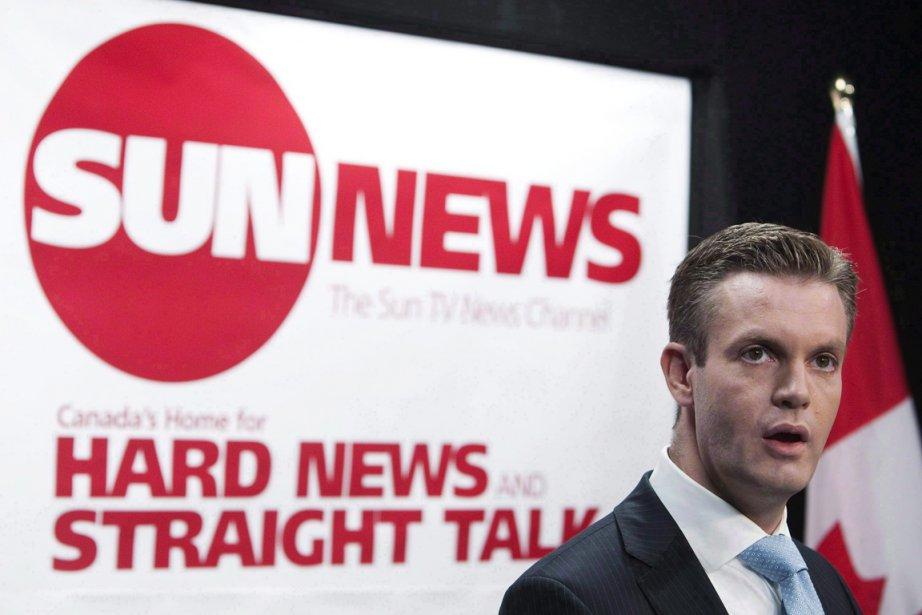 La chaîne de télévision Sun News demandait au... (PHOTO NATHAN DENETTE, LA PRESSE CANADIENNE)