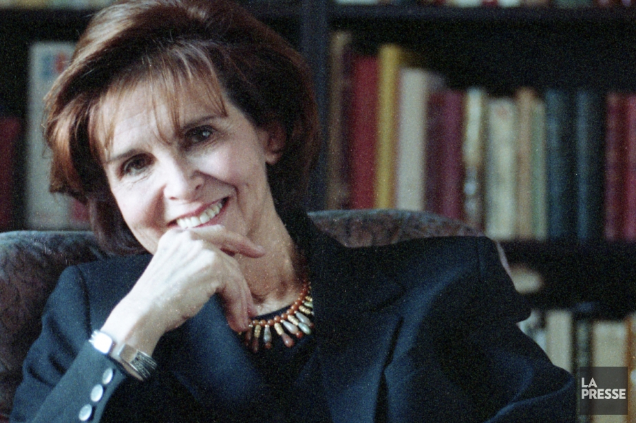 Hélène Loiselle photographiée en janvier 1996....