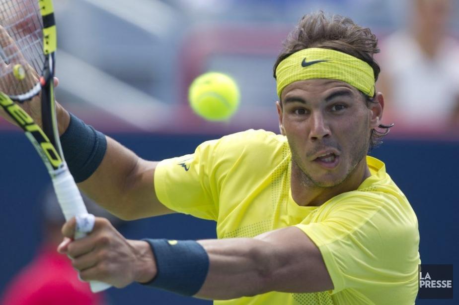 Rafael Nadal a donné la frousse à ses... (Photo Olivier Jean, La Presse)